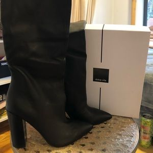 DOLCE VITA leather knee-high boots. Brand new!!
